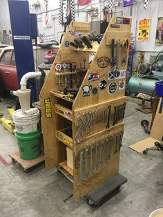 Garage Workshop Ideas and Workshop Discussion Ideas and 2293528003 Garage Workshop Organization, Garage Tool Storage, Garage Shed, Workshop Storage, Garage Tools, Workshop Ideas, Organization Ideas, Storage Ideas, Tool Cart