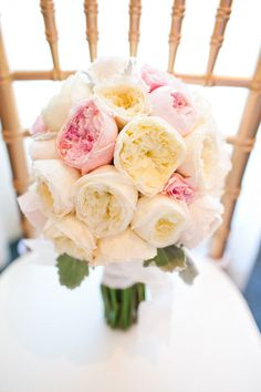 Perfect blooms for the big day.