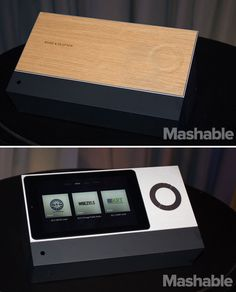 The BeoSound Moment is a music player that gives you a capacitive touch interface to navigate your music. Plus it comes beautiful oak wood.