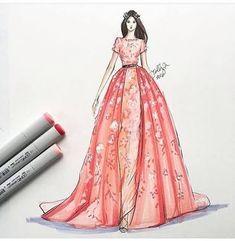 Moda çizim zamanı ♦️♥️