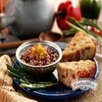Crispy Cornbread with Sausage And Peppers from Martha White®