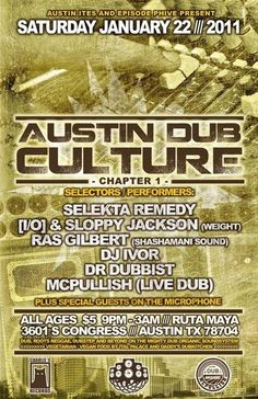 #Reggae #Austin #AustinReggae #Festival #Wildfire #EpisodePhive #E5Presents #concerts #Dub #ATX #Texas #McPullish