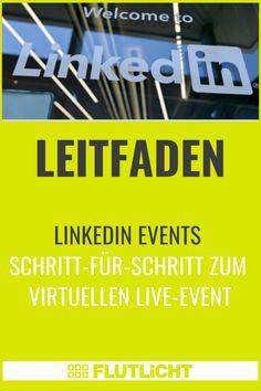 Die Funktion #LinkedIn #Events bietet LinkedIn Nutzer*innen die Möglichkeit, virtuelle Live-Veranstaltungen zu erstellen, zu hosten und daran teilzunehmen. Wir beleuchten, für wen und wofür sich LinkedIn Events eignen, wie du intuitiv die erste virtuelle Live-Veranstaltung für dein Business erstellst und welche Kniffe es dabei zu beachten gilt. Broadway, Events, Live, Communication, Tips