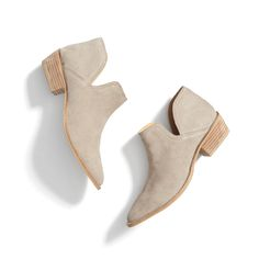 Stitch Fix Spring Styles: Suede Ankle Booties