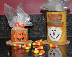 Megpie Designs: Recycled Fall Treat Containers