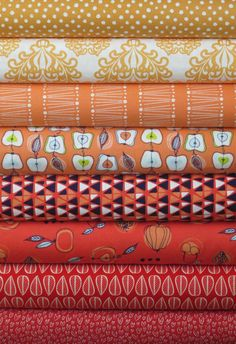 Fabricworm Custom Bundle, Farmer's Market in FAT QUARTERS 8 Total