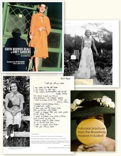 Edith Bouvier Beale of Grey Gardens, A Life in Pictures Edith Beale Grey Gardens, Little Edie Beale