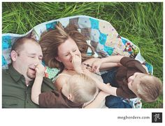 family--at ease & having fun is when you capture real personalities!