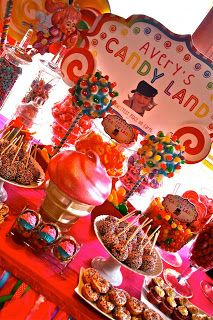 Jackie Sorkin's Fabulously Fun Candy Girls, Candy World, Candy Buffets & Event Industry Bl: The Most Fantastical Candy Land Sweet Shoppe Birthday Party For The Mcgraw Family- Candy Catering, Dessert Bar & Candy Buffet By The Hollywood Candy Girls