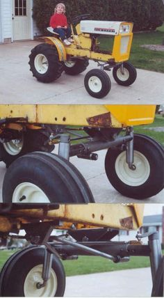 Does anyone know year and model of this cub cadet i am looking for a lawn tractor with rear tires bigger than Small Tractors, Compact Tractors, Old Tractors, John Deere Tractors, Lawn Tractors, Kubota Tractors, Small Garden Tractor, Garden Tractor Pulling, Cub Cadet Tractors