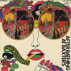 Hell's Belles! The Japanese arm of RCA just jettisoned Cobb's art all together and replaced it with this faux psychedelic, sorta Peter Maxish cover (also cool).