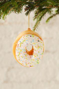 Sprinkle Donut Plush Ornament