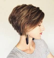 Image result for short layered hair women