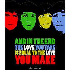 The Beatles, Printable Instant Download Poster, Rock'n'Roll Music Wall... ($6.90) ❤ liked on Polyvore featuring home, home decor, wall art, word wall art, music quote posters, colorful wall art, quote posters and calligraphy wall art
