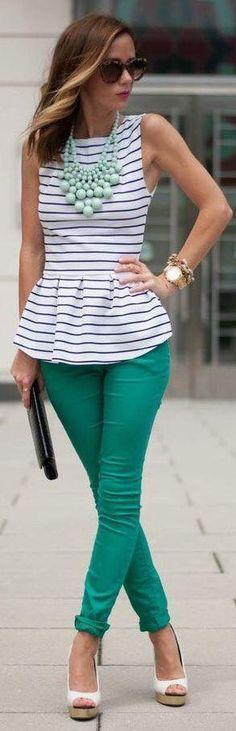 Luv the pants!  Cute top!