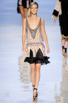 Etro Deco-Inspired Dress