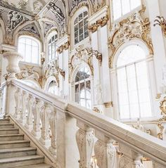 Imagen de architecture, white, and aesthetic Architecture Baroque, Beautiful Architecture, Beautiful Buildings, Interior Architecture, Beautiful Places, Beautiful Pictures, Princess Aesthetic, White Aesthetic, Vintage Design