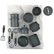 """Just Like Home Nonstick Cookware 14 Piece Playset - Black - Toys R Us - Toys """"R"""" Us"""
