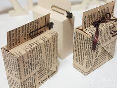 [선물포장]접착제 없이 만들어지는 선물상자..상자도안을 접어서 만들어요~ :: 네이버 블로그