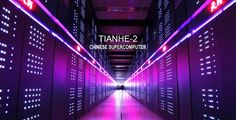 World Fastest Supercomputer is Born Chinese      China have upgraded their supercomputer named Tianhe-2 code name Milkyway-2 developed by China's National Defense Technology become the number one position with a performance of 33.86 petaflop/seconds (quadrillions of calculation