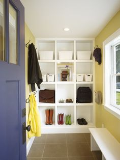 Maybe this would work by the back door // 10 Ways to Boost Your Home's Resale Value by Laura Gaskill on Houzz