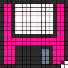 floppy disc bead pattern
