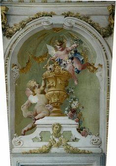 cherub mural
