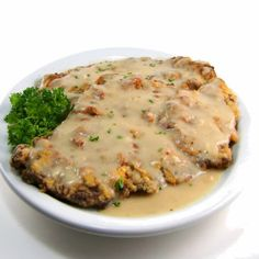 Chicken Fried Steak ~ my fave!