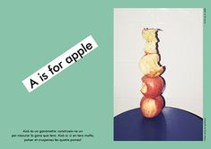 Apartamento's first photobook: A children's A-Z featuring the mag's many collaborators.