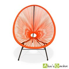 Acapulco orange http://www.alicesgarden.fr/mobilier-jardin/chaise/huevo-fauteuil-oeuf?selected=708