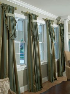 See more window coverings and window treatments sunroom. Window Treatments Bedroom, Curtain Decor, Window Decor, Custom Window Treatments, Window Treatments Living Room, Curtains, Home Curtains, Living Room Windows, Curtain Designs