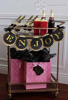 Oscars + Academy Awards Themed Party with Lots of Really Cute Ideas via Kara's Party Ideas
