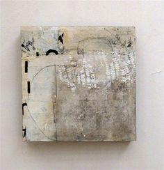 "Joyce Stratton   mixed media artwork   Beautiful Mind 11 at UGallery $275 10"" sq x 1 deep"