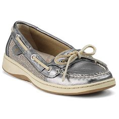 SPERRY TOP-SIDER® Angelfish Leather Boat Shoes ($80) ❤ liked on Polyvore