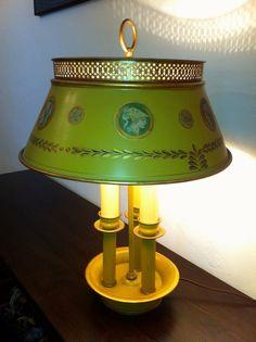 Vintage Toleware Lamp  http://www.etsy.com/shop/TheBostonTeaParty?ref=si_shop