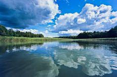 Mazury summer clouds, Poland  by www.martin-liebermann.de  #Mazury #Masuren #Poland #Polen #See #lake #clouds #Wolken