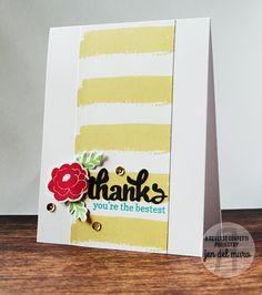 Reverse Confetti | www.reverseconfetti.com | April Special Release | Thank You Card