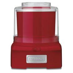 #9: Cuisinart ICE-21R Frozen Yogurt-Ice Cream  Sorbet Maker, Red