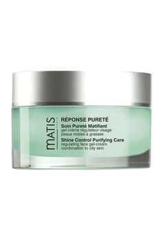 Moisturiser for oily skin - Matis Reponse Purete Shine Control Purifying Care Regulating Gel Cream French Skincare, Laser Clinics, Acne Control, Moisturizer For Oily Skin, Moisturiser, Skin Cream, Paris, Beauty Care, Face And Body