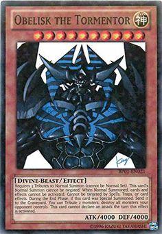 Yu-Gi-Oh! - Obelisk the Tormentor (BP01-EN021) - Battle Pack: Epic Dawn - Unlimited Edition - Starfoil Rare