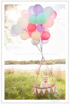 @Beckie Berry- cute idea for 1st birthday photo shoot, just be sure to anchor down the basket :)