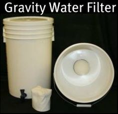Gravity Water Filter