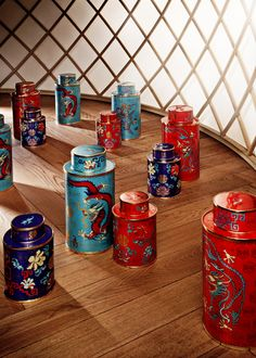 Shanghai Tang Tea Box!
