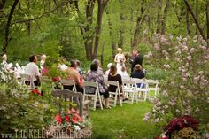 Garden wedding Overland Park Kansas #wedding #gardenwedding #beautiful #outdoorvenue @The Kelly Gallery @trendz @Fancy Green