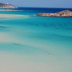 South Sardinia: Su Giudeu Beach - Chia. I LOVE THIS BEACH!! Do you want to know more? http://www.keepcalmandtravel.com/top-ten-sardinian-beaches-for-a-low-budget-holiday/