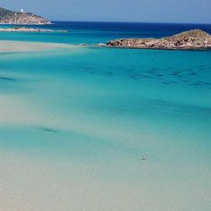 South Sardinia: Su Giudeu Beach - Chia. I LOVE THIS BEACH!! Do you want to know more? http://www.homeinitaly.com
