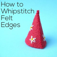 I've already got a video showing the basics of how to whipstitch. It's a great way to sew up a stuffing opening in a softie, and that's what I demonstrate in the original. When you're working with felt, the basic mechanics of how to whipstitch are the same. But felt is a little different than …