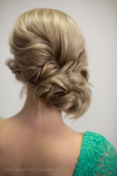 Spring/Summer 2014 Hair Looks - Guelph, Ontario, Canada - Hair Salon - Bodh Salon - updo's - summer hair - blonde hair - summer updo - wedding hair/ updo - modern hairstyles - vintage hairstyles. curly hair.