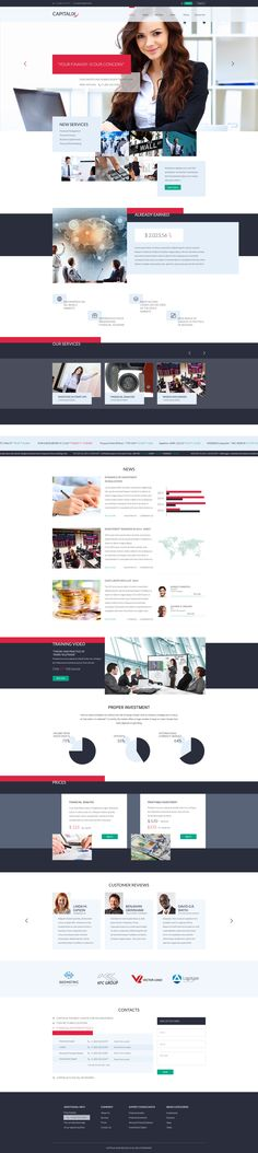Capitalix — Business Multipurpose #PSD #Template is very original corporate psd template. This theme have displaced text and blocks design. It's very challenging, bold, it breaks the patterns of thinking. Design built on the Bootstrap grid that makes easy to create website templates, based on our PSD's: Joomla or WordPress theme.