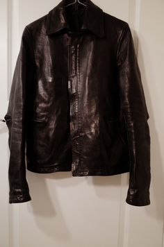 Carol Christian Poell Bison Leather Scarstitch Size S $3500 - Grailed